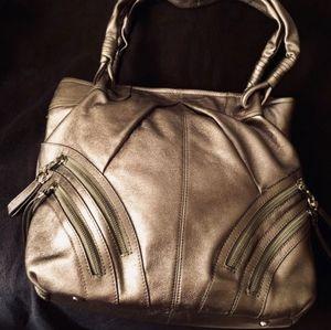 B Makowsky bag silver